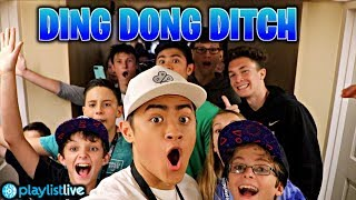 DING DONG DITCHING WITH FANS! (AT PLAYLIST LIVE)
