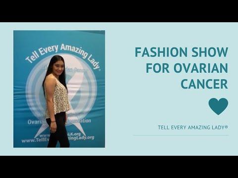 Rose Kardashian Fashion Show for Ovarian Cancer