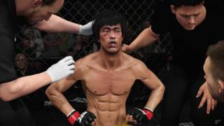 Bruce Lee Vs Cub Swanson UFC 2 Gameplay