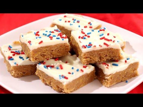 Peanut Butter Corn Flakes Treats #Recipe