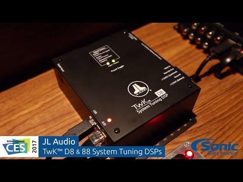 JL Audio TwK System Tuning DSPs & TüN DSP Control Software   CES 2017