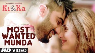 MOST WANTED MUNDA Video Song | Arjun Kapoor, Kareena Kapoor | Meet Bros, Palak Muchhal