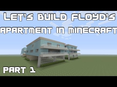 Let's Build Floyd's Apartment (Trevor's Safehouse) from GTA 5 in Minecraft: Part 1