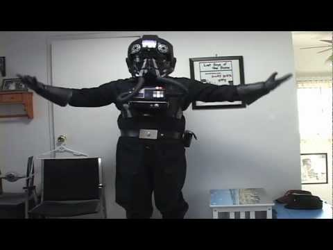 How to put on TIE Pilot Armor by James Hannon (TI-6799 - 501st Legion)