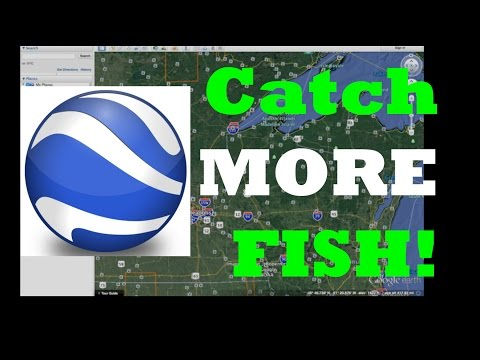 How to catch more fish with Google Earth!
