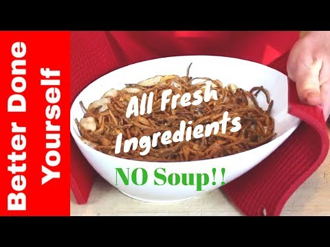 Healthy Green Bean Casserole with ALL Fresh Vegetables