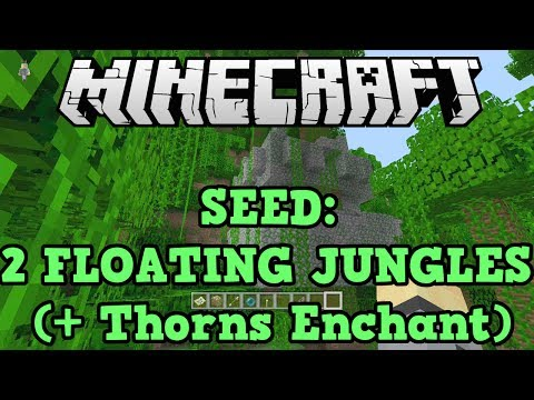Minecraft PS3 + Xbox 360 Seed: TWO FLOATING Jungle temples