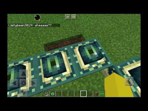 How to make the end portal in minecraft So easily!!