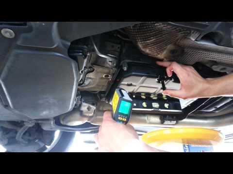 mercedes 722.9 7 G tronic adjust transmission fluid level