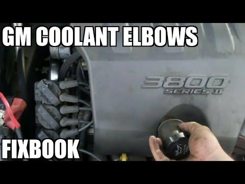GM Chevy 3.8 Liter Coolant Elbows