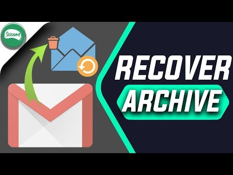 How To Recover Archived Mail In Gmail | Retrieve Archived Mail In Gmail 2017