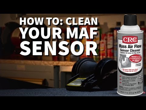 CRC Mass Air Flow (MAF) Sensor Cleaner Instructional Video