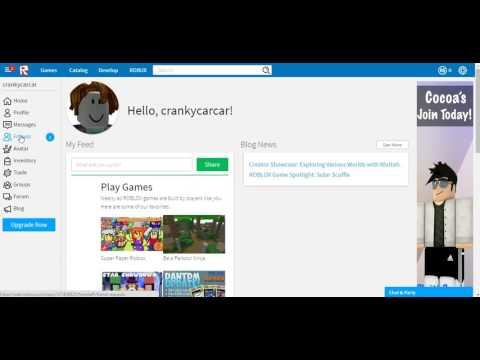 How To Accept A Friend Request In Roblox