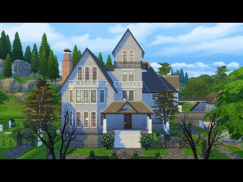 Rebuilding The Sims 3 Goth House in The Sims 4 (Streamed 2/14/18)