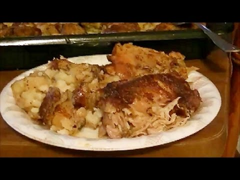My Recipe for Healthy and Crispy Baked Chicken Thighs With Cubed Potatoes