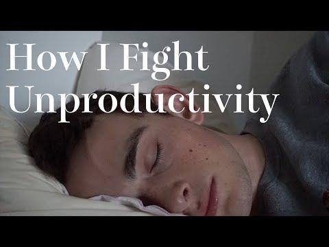 How I Fight Unproductivity
