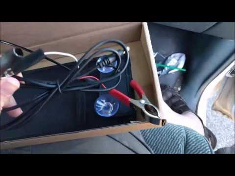 18V 5W Portable Solar Car Battery Charger Bundle
