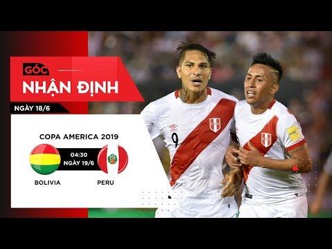 Nhận định bóng đá ngày 18/6: Cơ hội để Peru giành trọn 3 điểm trước Bolivia