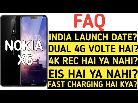 Nokia X6 India Launch Date,India Price| FAQ Video All Questions Answered In Hindi