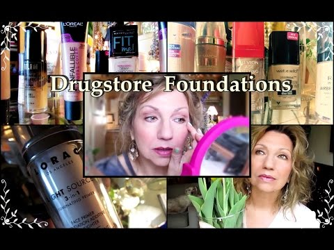 My Best & Worst Drugstore Foundations for Mature Skin – Spring 2017