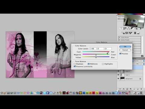 Photoshop CS4  [How to Blend]