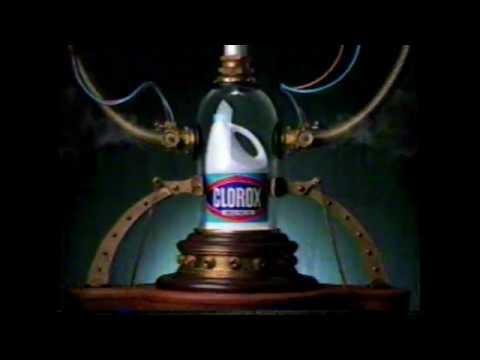 Ultra Clorox Bleach Commercial - 1998