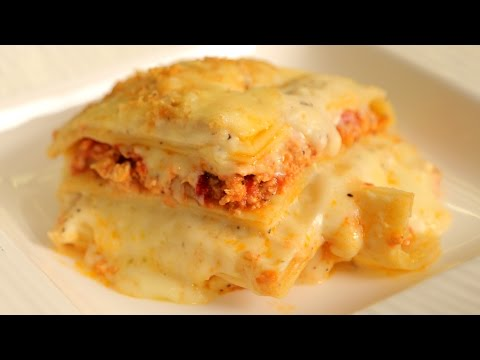 Lasagna Recipe | How To Make Chicken Lasagna | Nick Saraf's Foodlog