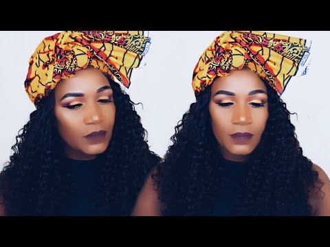 ANKARA INSPIRED MAKEUP LOOK COLLAB WITH DILIAS EMPIRE