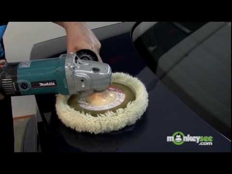 Polish Car - Remove Scratches with a Machine Buffer