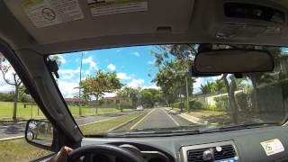 GS 1000 1080p Dash Cam  Camera road test in Waipahu Hawaii with Nautica.