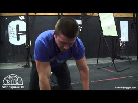 How to Improve Overhead Mobility w/ T-Spine Mobility Drills - TechniqueWOD