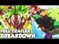 Dragon Ball Super Broly Trailer 3 Breakdown! BROLY UNLEASHED! Goku Vs Broly! Vegeta Vs Broly
