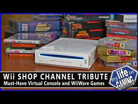 Celebrating the Wii Shop: Virtual Console & WiiWare Games :: Game Showcase - MY LIFE IN GAMING