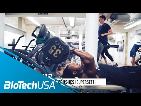 Triceps Workout for Mass - Daily Routione with Ulisses - BioTechUSA
