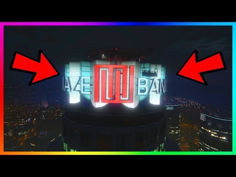 GTA 5 Online - Secret MAZE BANK Tower Wallbreach | PS4/Xbox One/PC (GTA 5 Glitches 1.41)