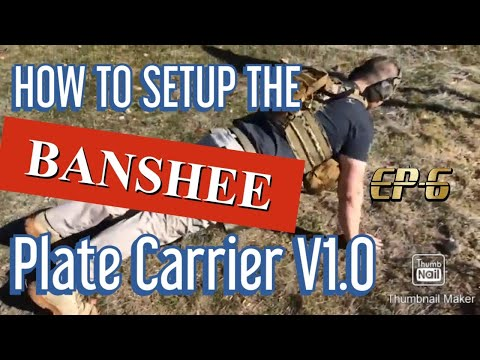 How to set up a plate carrier - Banshee Plate Carrier AR500 Armor Plates