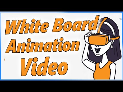 How to make Sketch Animation Video or white board animation - Tutorial In Hindi