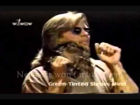 MR.BIG - GREEN TINTED SIXTIES MIND (Acoustic) Lyrics