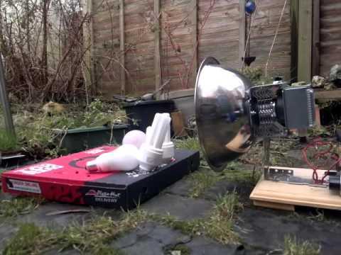 DIY Microwave Death Ray