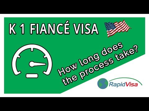 How Long Does the K 1 Fiance Visa Process Take?