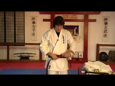 How to Size / Tie a Martial Arts Belt