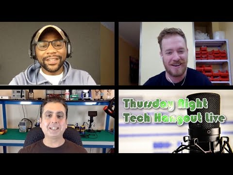 Tech Hangout Live With U Droid Mania and Strange Parts