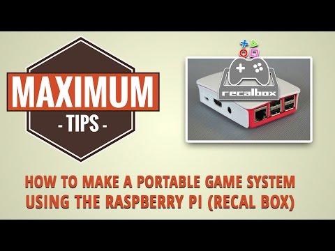 Make A Simple Portable Raspberry Pi Gaming System / Maximum Tips