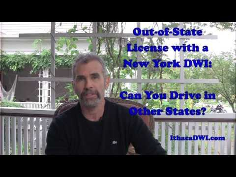 Out-of State License with a New York DWI: Can You STILL Drive?