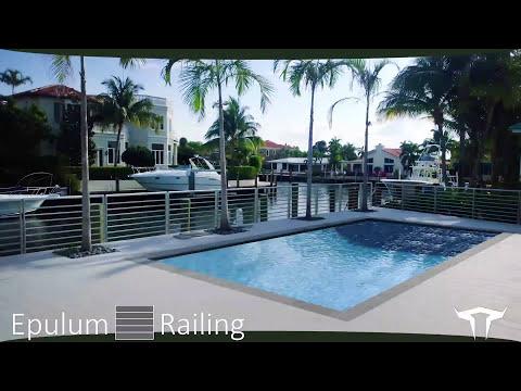 Epulum Modern Railing by Green Oxen