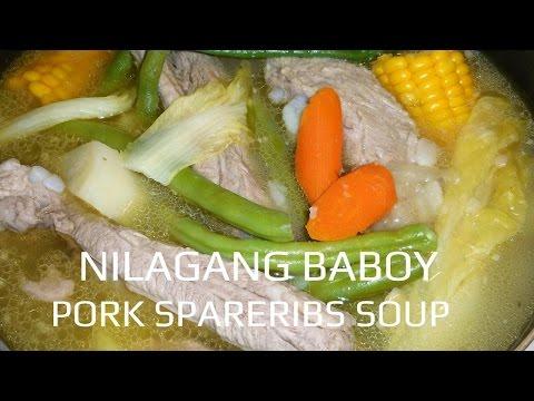 NILAGANG BABOY l PORK SPARERIBS SOUP