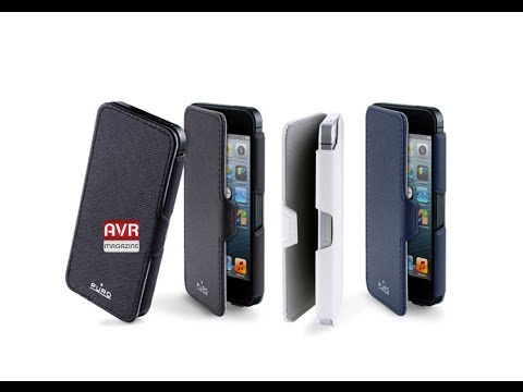 Puro Booklet Slim Case - Custodia protettiva per iPhone 5 e 5s - AVRMagazine.com