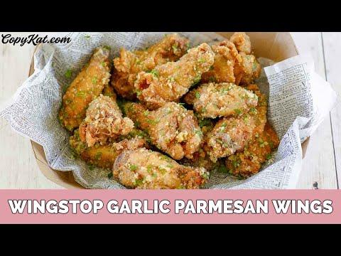 Wingstop Garlic Parmesan Wings