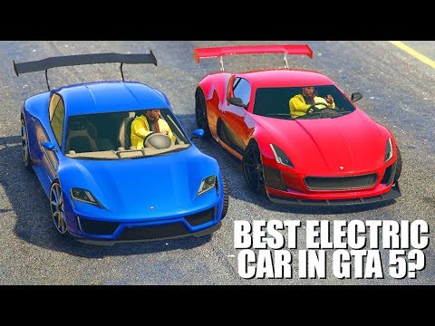 What Is The Best Electric Car in GTA 5 Online? (Top 5 Best Electric Cars in GTA 5 Online)