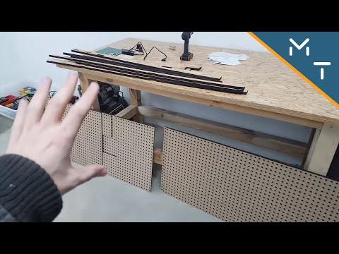 How to make Custom Laser Cut Peg Board.